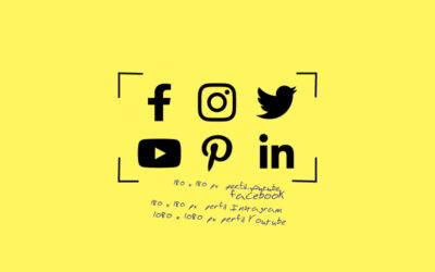 Tamaño de las imágenes en Redes Sociales en 2020